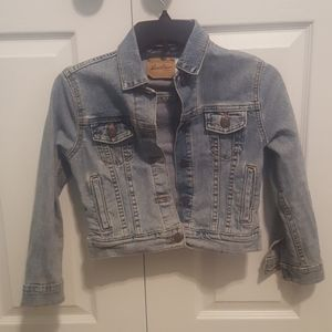 Levis Trucker Youth M, Very Good Condition